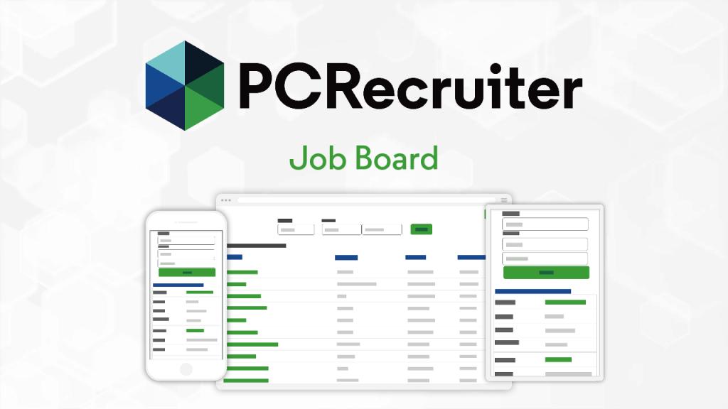 pcrecruiter job board
