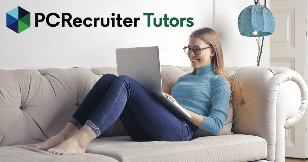 PCRecruiter Tutors Webinars