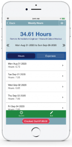 Mobile Timesheets in PCRecruiter