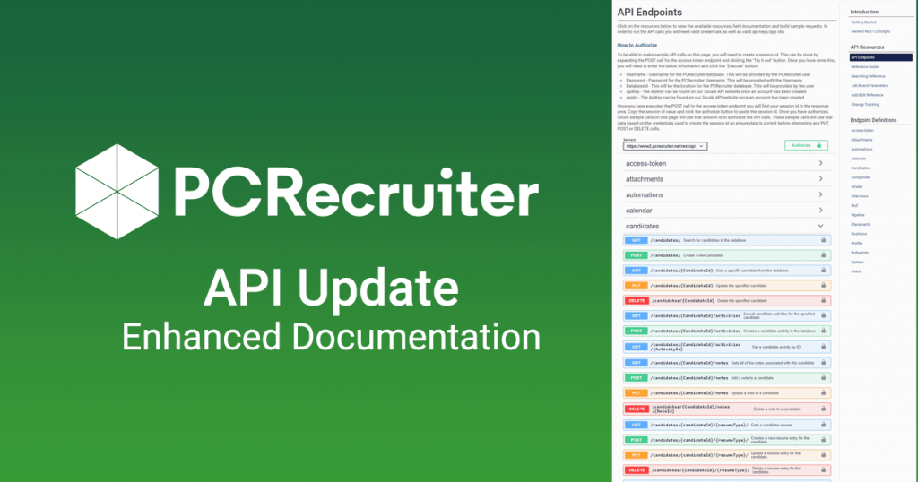 API Doc Update